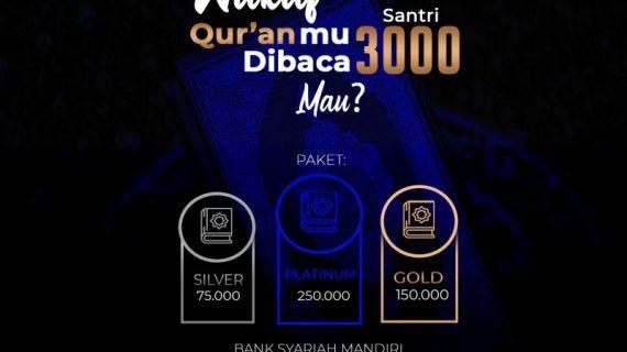 Dibutuhkan Wakaf Qur'an Untuk 3.000 Santri RQ PPA & RTP