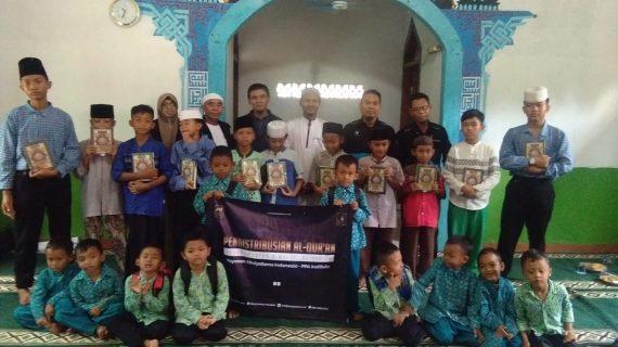 Distribusi Program infaq & Wakaf Quran Ke Santri RQ PPA Purwakarta
