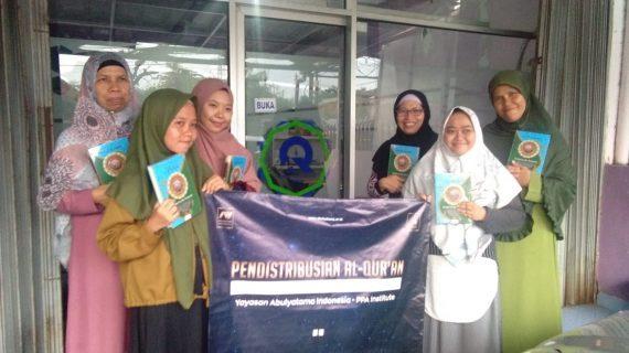 Wakaf Quran Ke Santri RQ PPA Cirebon