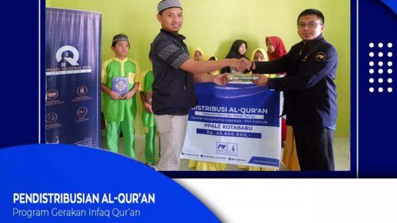 Pendistribusian Program Infaq & Wakaf Qur'an Yayasan Abulyatama Indonesia