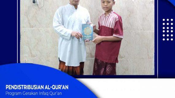 Distribusi Qur'an Ke Rumah Tahfidz Batujajar Bandung