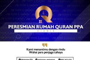 Peresmian Rumah Quran PPA Cabang Ciamis