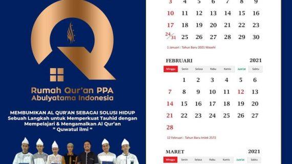 Kalender Tahun 2021 RQ PPA