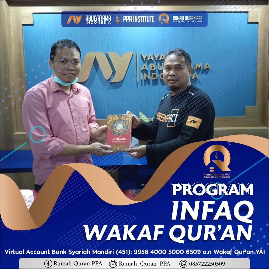 Distribusi Wakaf Qur'an Ke RQ PPA Ciamis