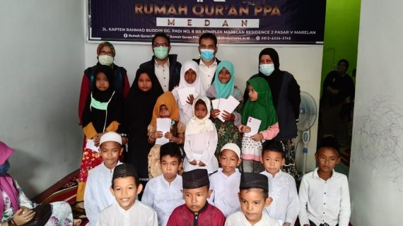Peresmian Rumah Qur'an PPA Cabang Medan