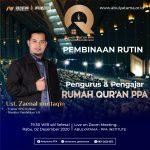 Meeting Pembinaan Pengurus & Pengajar Rumah Quran PPA