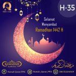 Marhaban Yaa Ramadhan 1442 H