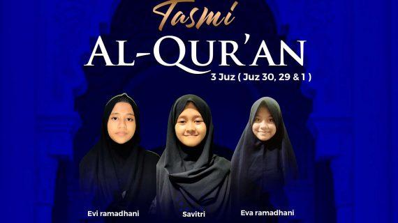 Tasmi Qur'an 3 Juz RQ PPA Tarakan