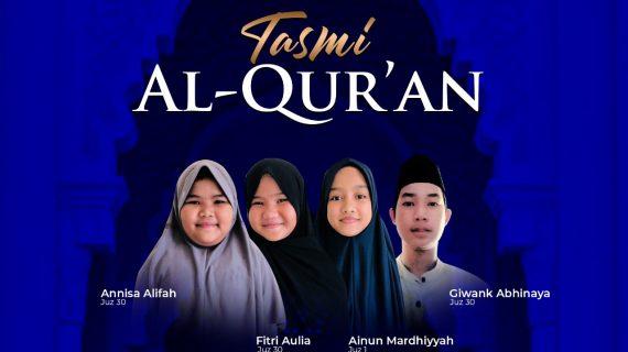 Tasmi Al Qur'an Juz 30 & 1 Santri RQ PPA Babel