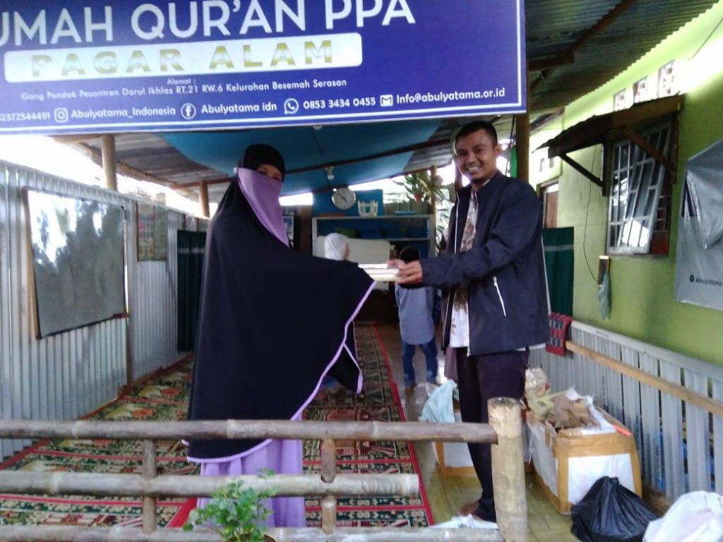 Distribusi Program Infak Qur'an Ke RQ PPA Pagar Alam