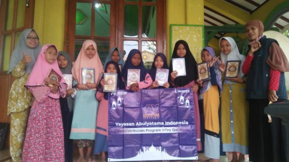 Distribusi Program Infak Qur'an Ke RQ PPA Madiun