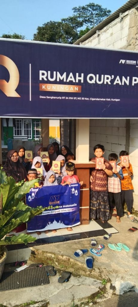Distribusi Program Infak Qur'an Ke RQ PPA Kuningan