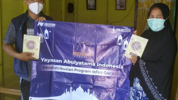 Distribusi Program Infak Qur'an Ke RQ PPA Bengkalis