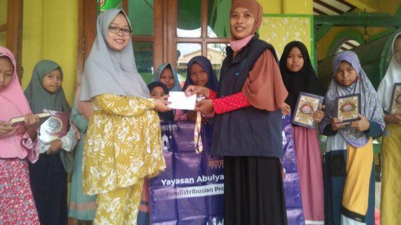 Distribusi Program Infak Qur'an Ke RQ PPA Madiun