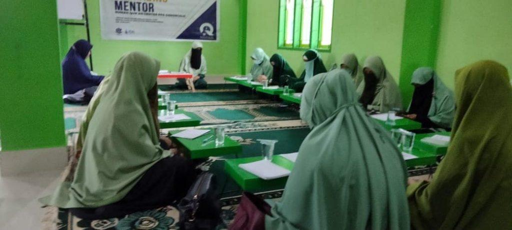 Upgrading Mentor Rumah Quran Center PPA Gorontalo