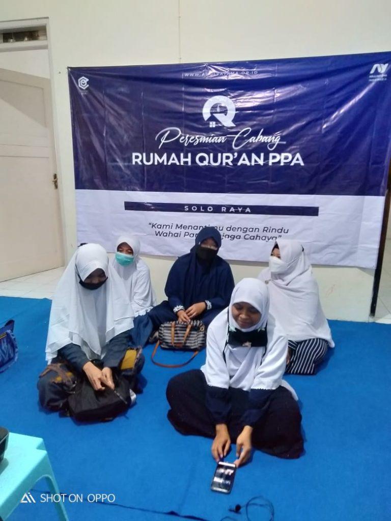 Peresmian Rumah Qur'an PPA Solo Raya