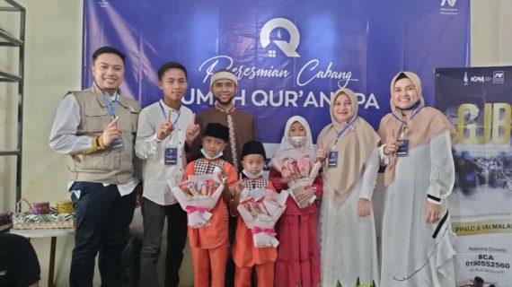 Peresmian Rumah Qur'an PPA Malang