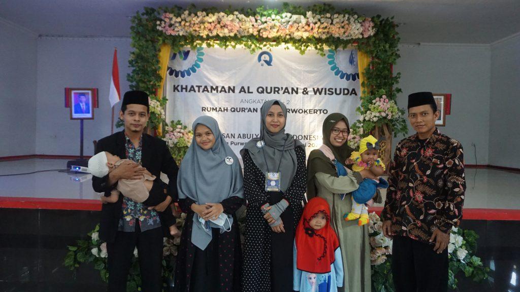 Khotam Al Qur'an & Wisuda Santri Rumah Quran PPA Purwokerto
