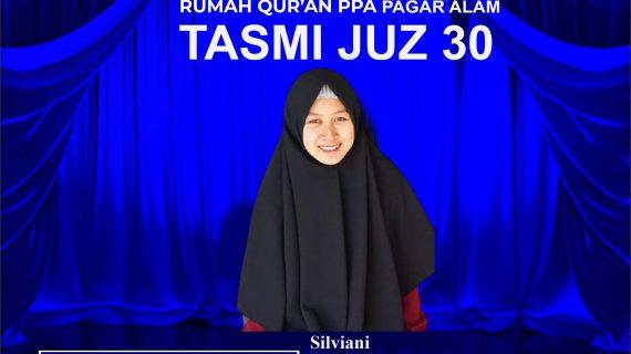 Tasmi Juz 30 Rumah Qur'an PPA Pagar Alam