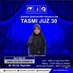 Tasmi' Al-Qur'an Juz 30 Bersama Santri Rumah Qur'an PPA Pagar Alam