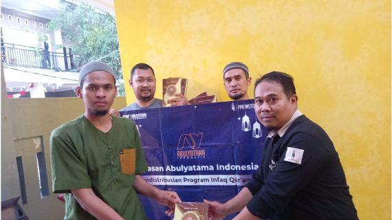 Distribusi Mushaf Qur'an ke RQ PPA Karawang